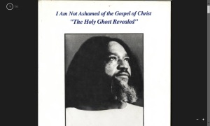 I am Not Ashamed of the Gospel of Christ - The Holy Ghost Revealed