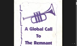The Global Call To The Remnant