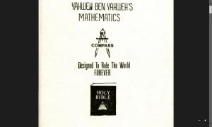 Yahweh ben Yahweh - Mathematics Designed To Rule The World Forever